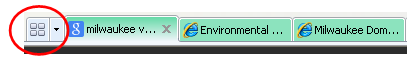 Quick Tabs in IE8