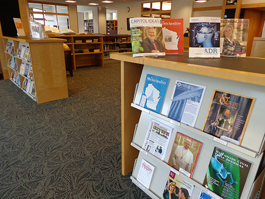 current periodicals area
