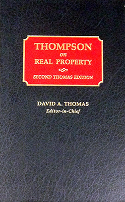 Thompson on Real Property book cover