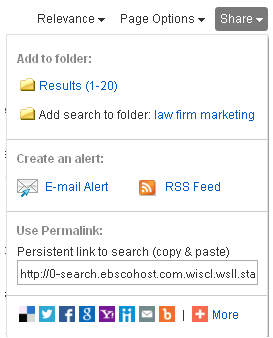 RSS Alert Example
