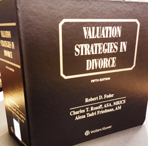 Valuation strategies in divorce cover