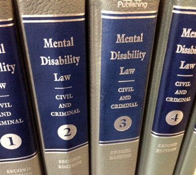 mental disability law civil and criminal covers