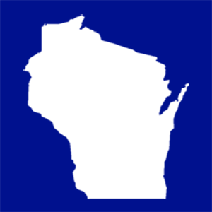 Wisconsin outline