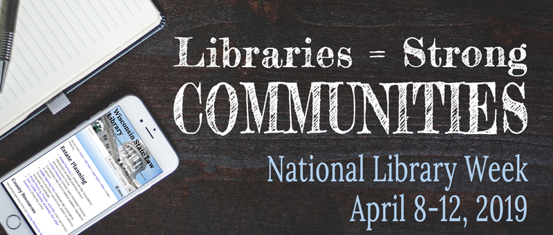 National Library Week April 8-12